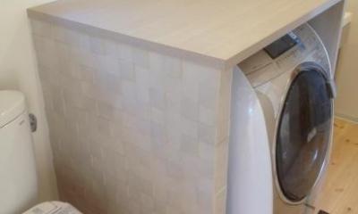 サニタリールーム|デザインリフォームで耐震補強