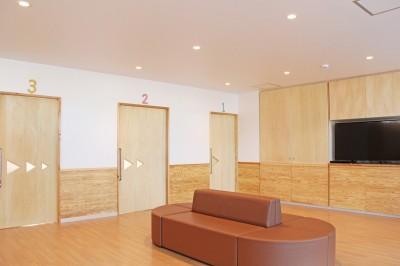 診療室 (松戸の診療所(無垢な診療所))