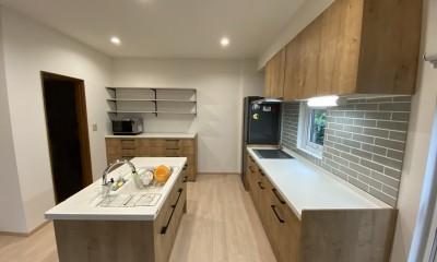 ペットと暮らす家のキッチンリフォーム