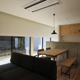 三本の家-sanbon