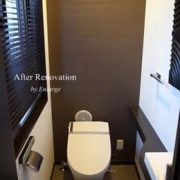 都会のサニタリー/バスルーム/キッチン/トイレ スタイリッシュデザイン (トイレ1)