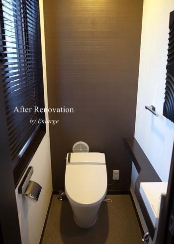 スタイリッシュデザインの写真 トイレ1