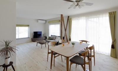 のびのび暮らせる家づくり (たくさんの来客でも対応できるゆとりのスペース)