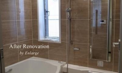 バスルーム1|スタイリッシュデザイン