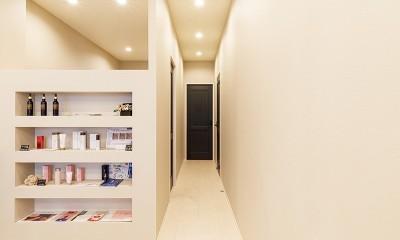エステサロンのある家|狭小住宅リノベーション