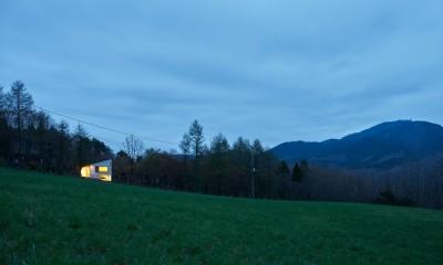 高山村の小さな家