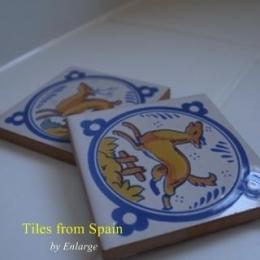 スペインタイルのサニタリースペース (スペインタイル)