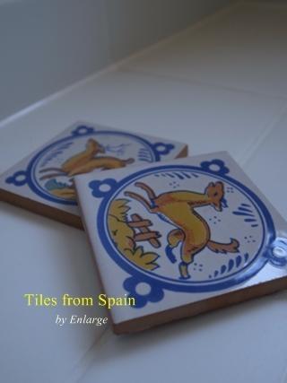 スペインタイルのサニタリースペースの部屋 スペインタイル