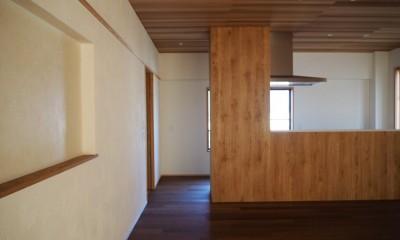 戸建ての改修 (キッチン)