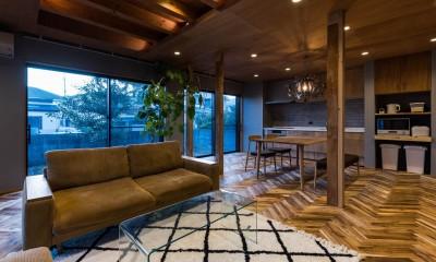 京都と海外が融合する家