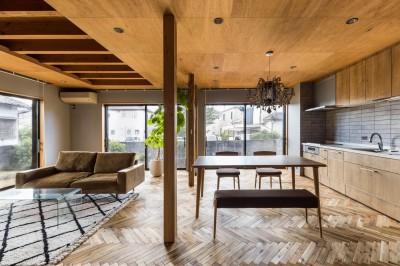 京都と海外が融合する家 (LDK)