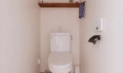 K様邸_マンションで憧れの古民家に住む (トイレ)