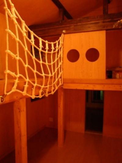 ロフトのある子供部屋 (海老名市 M様邸)