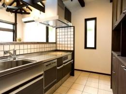 Japanese Modren Style (キッチン)