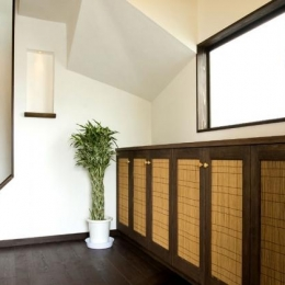 Japanese Modren Style (ニッチのある玄関)