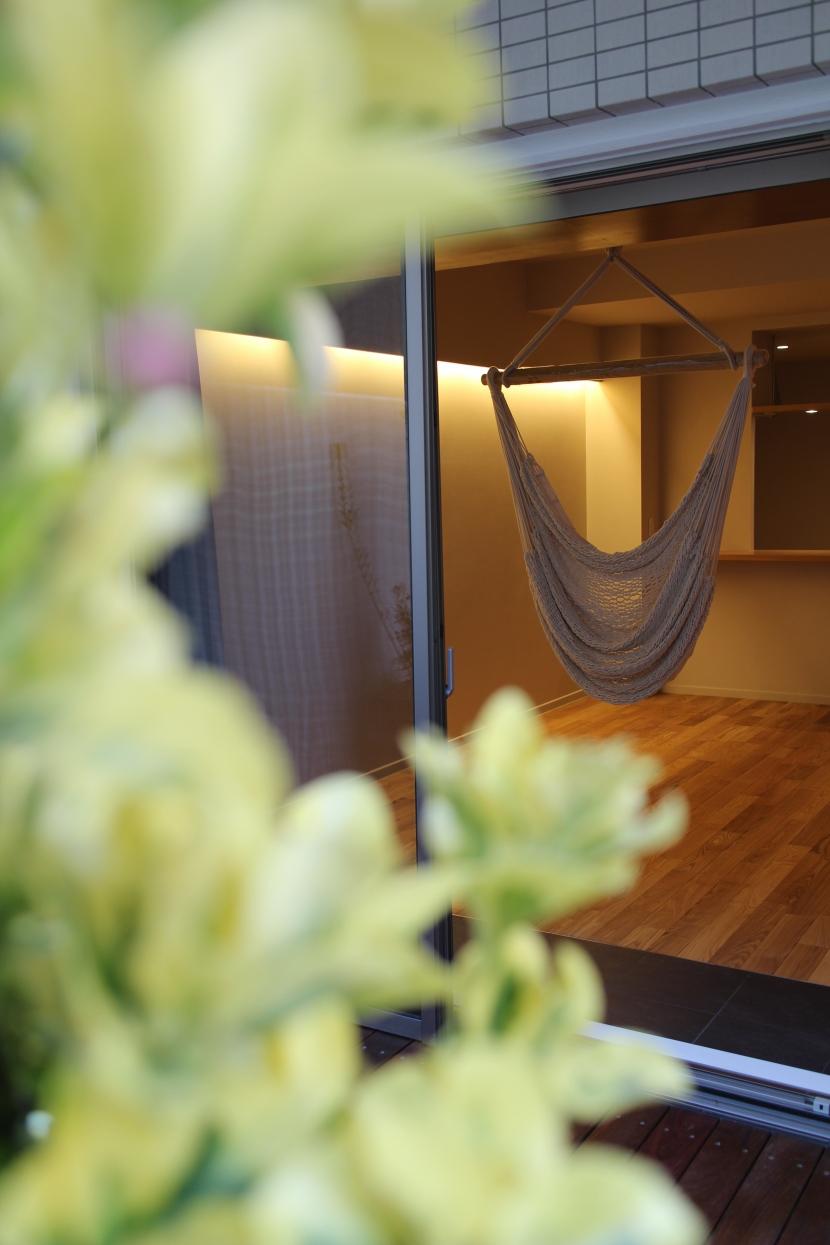 GARDENプロジェクトの部屋 バルコニー