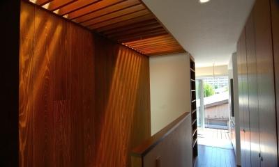 H-House (階段+廊下)