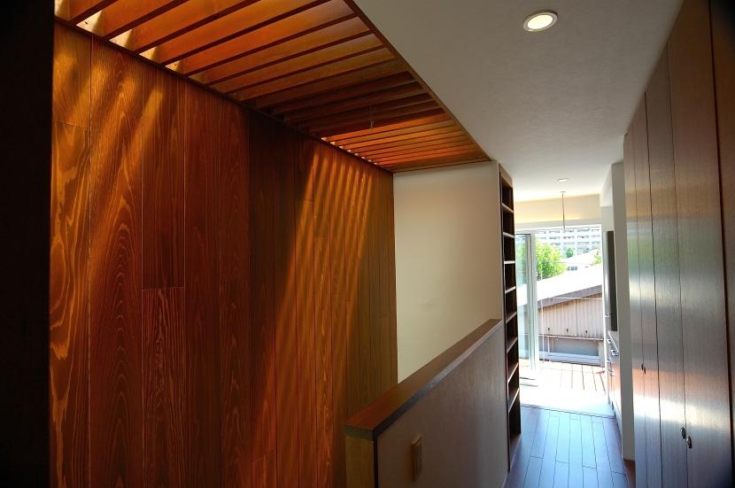 H-Houseの部屋 階段+廊下