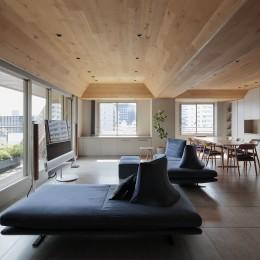 木天井の家(一番町の家)