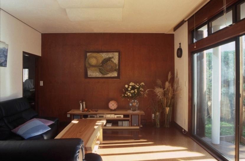 マルチテラスのある家(リフォーム)の部屋 リビング2