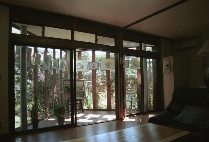 マルチテラスのある家(リフォーム)の部屋 リビング1