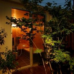 木質スケルトン+DIYでつくるこだわり空間 (浴室2)