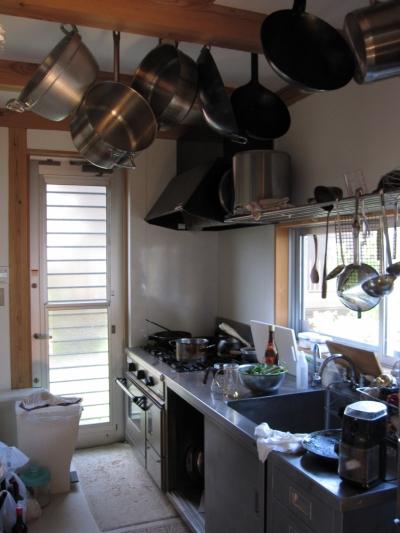 木質スケルトン+DIYでつくるこだわり空間 (キッチン)