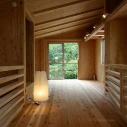 木質スケルトン+DIYでつくるこだわり空間 (書斎)