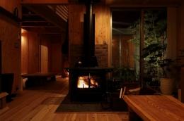 木質スケルトン+DIYでつくるこだわり空間 (リビング1)