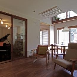 ピアノと暮らす家