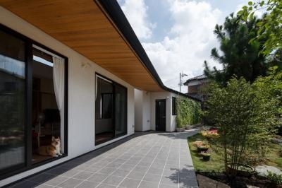 テラス1 (庭と繋がるテラスハウス)