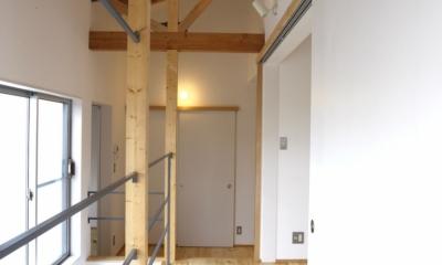 ラップハウス (2階廊下)