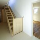 双子とピアニストの家の写真 階段