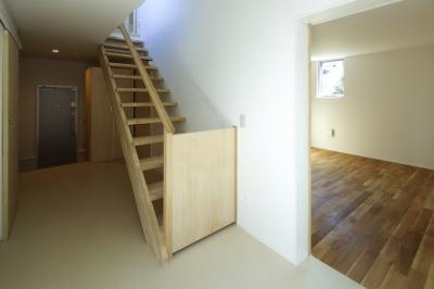 双子とピアニストの家 (階段)