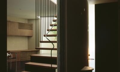 大井の家 (階段)