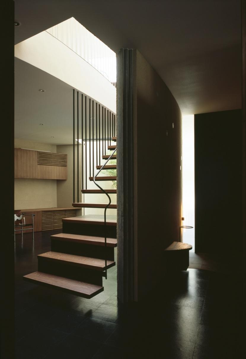 大井の家の部屋 階段