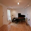 ミニコンサートの開ける音楽室