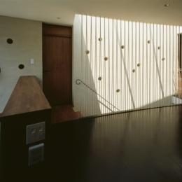 大井の家 (階段上部)