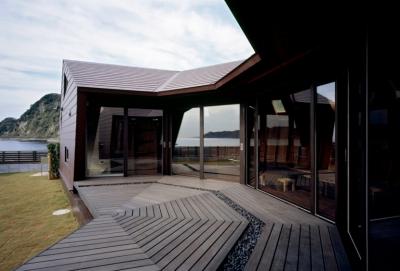 海辺のシェルハウス (テラス)
