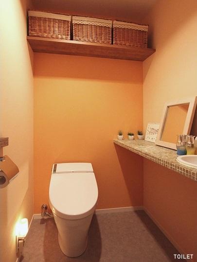 4colorsの部屋 トイレ