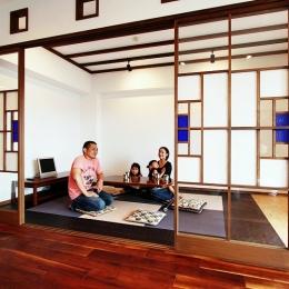 リノベーション・リフォーム会社 nu(エヌ・ユー)リノベーションの住宅事例「715 An -庵-」