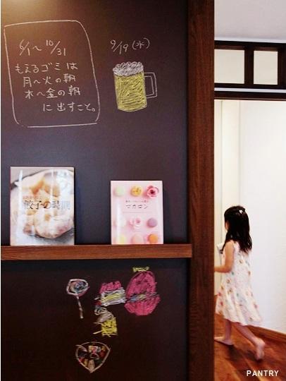 715 An -庵- (パントリー前の黒板)
