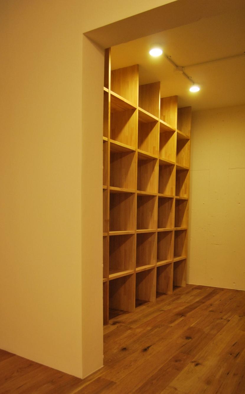 CASA M マンションリノベーションの写真 本棚