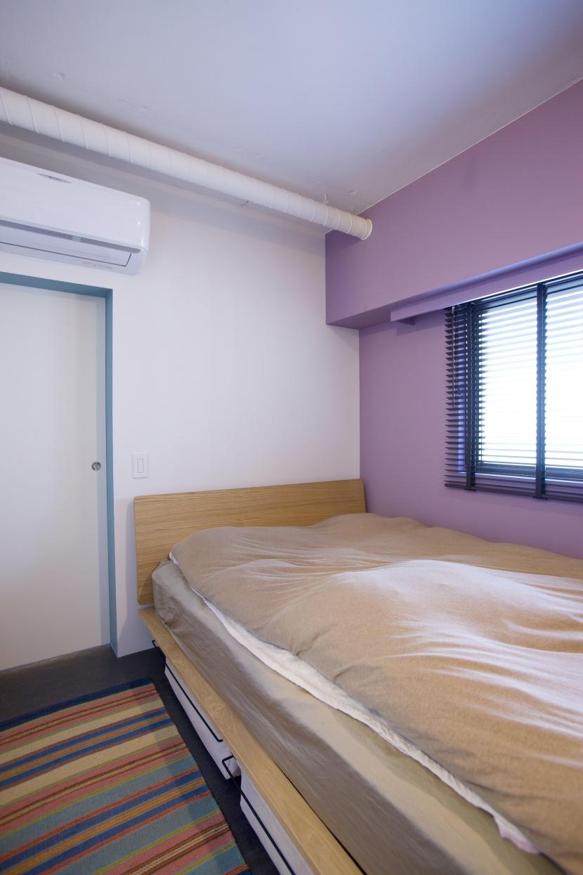 西早稲田I邸の部屋 ベッドルーム