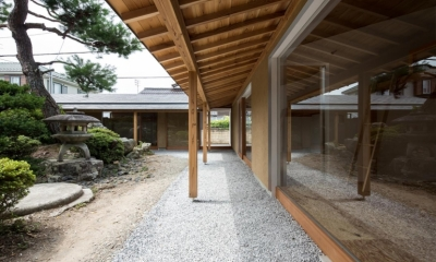 ゲストハウス無我/GUEST HOUSE MUGA (中庭)