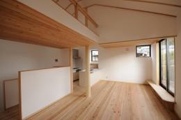 船岡山の家 (ファミリールーム)