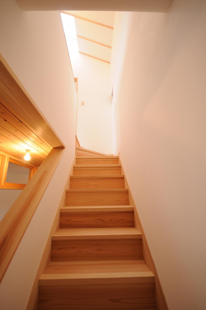 船岡山の家の写真 階段