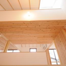 船岡山の家 (階段室)