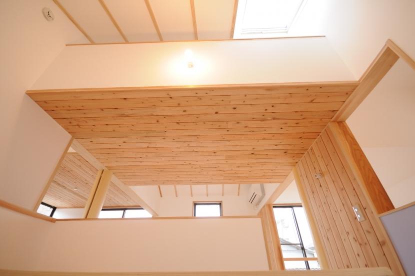 船岡山の家の写真 階段室