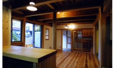 高槻の木組みの家